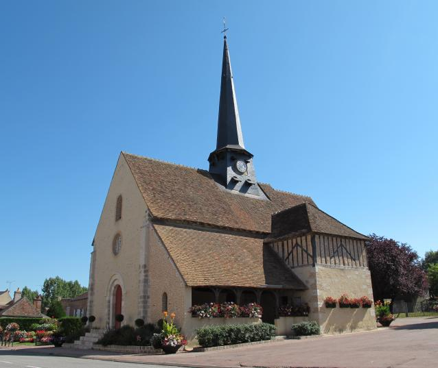 eglise isdes val de sully